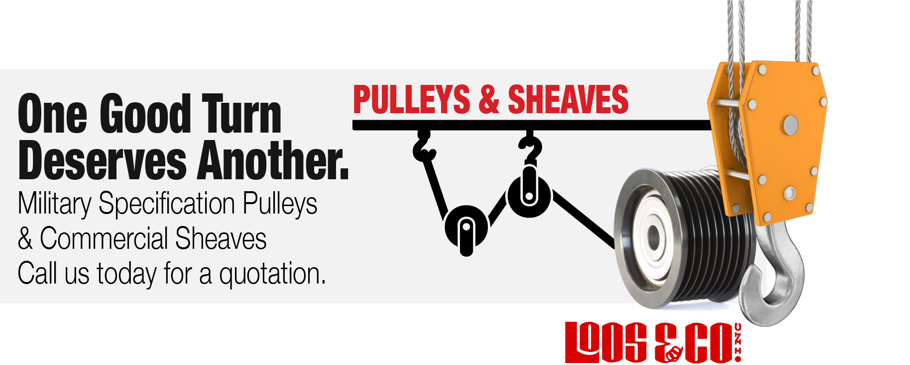 Loos and Company Pulleys & Sheaves