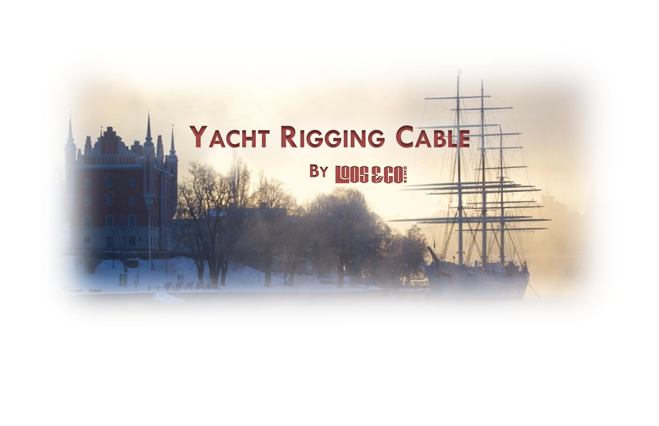 Loos and Company Yacht Rigging Cable